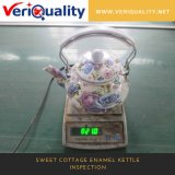 QC Service for Sweet Cottage Enamel Kettle, Inspection Service