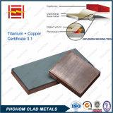 Titanium Copper Explosive Welding Clad Plate