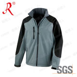 Outdoor Waterproof Windproof Soft Shell Jacket (QF-464)