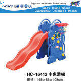 Cheap Plastic Toy Plastic Equipment Small Plastic Slide Set (M11-09410)
