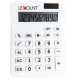 10 Digits Dual Power Medium Size Desktop Calculator (LC238-10D-WT)