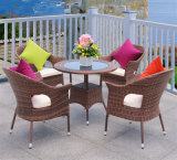 Outdoor Garden PE Rattan / Wicker Round Dining Table and Chairs Set Z357