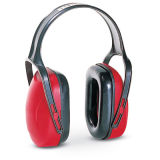 Red Color Fashion Comfortable Light Weight Safety Earmuffs Adjustable Headband