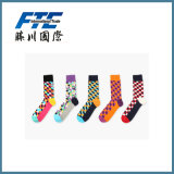 Lady Cotton Long Sports Socks for Warm