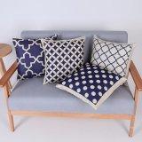 Digital Print Decorative Cushion/Pillow with Geometric Pattern (MX-62)