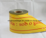 Underground Warning Tape with Yellow Color 4""