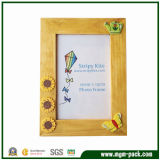 Lovely Yellow Wooden Gift Picture Frame (MGM-PF71)
