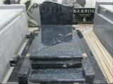 Granite Tombstone / Monument - Blue Pearl