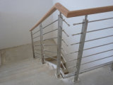 Stainless Steel Handrail Stainless Steel Solid Rod Balustrade for Staircase