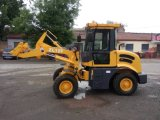 Wheel Loader Mini Loader with Snow Blade and Snow Blower Zl12f