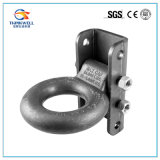 Tow Ring Trailer Lunette Ring with 4 Hole Bracket
