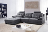 Best-Selling Contemporary Commercial Living Room Sectional Leather Sofa (HC593L)