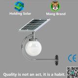LED Solar Outdoor Wall Moon Light with Intelligent Sensor