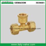 Brass Forged Female Tee for Pex Pipe (AV9057)