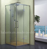 Simple Shower Room with Stainless Steel Components (LTS-004)