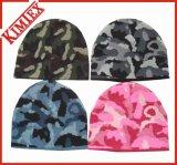 Fashion Acrylic Jacquard Camouflage Beanie Hat