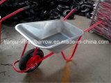 Wb5009 Galvanized Wheelbarrow for Russia Market