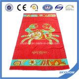 Red Printed Beach Towel (SST1051)