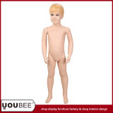 Adorable Boy Fiberglass Mannequin for Children Clothes Store