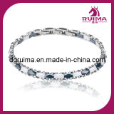 Elegants Style Stainless Steel and Ceramic Bracelet Jewelry (RB067)