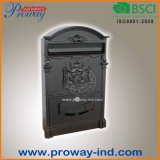Outdoor Alu Cast Classic Wall Mount Mail Box, Optional Color
