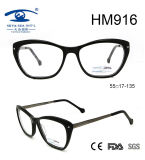 New Arrival Italian Acetate Optical Frame Eyewear Glasses (HM916)