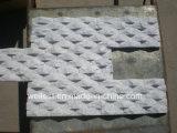 Ql-310W Shinning White Quartzite Cultrue Ledge Wall Cladding Tile