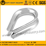 Heavy Duty Us Type G414 Carbon Steel/Ss Wire Rope Thimble