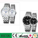 Japan Quartz Movemeent Couple Wristwatch