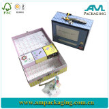 Irregular Shape Jewelry Packaging Box With Metal Lock