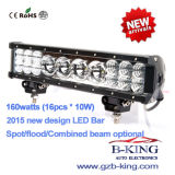 New Arrival 22inch 160watts (16PCS*10watts) CREE LED Bar Light