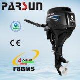 F8BMS Parsun 4-Stroke Tiller Control, Pull Start and Short Shaft Engine Outboard Motor