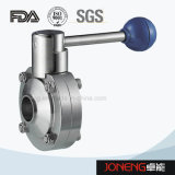 Stainless Steel Sanitary Welded Butterfly Valve with Short End (JN-BV5001)