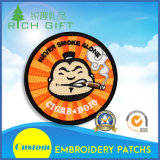 Customized Embroidery Patch with Portrait on Front