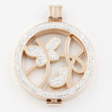 316L Surgical Stainless Steel Locket Pendant for Fashion Necklace Jewelry
