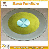 Eco-Friendly Tempered Glass Rotating 4 Inch Lazy Susan