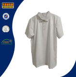 100% Cotton High Quality Wholesale Bulk Plain White Polo Shirts for Men