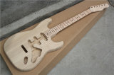 Electric Guitar Kit with Elm Body and Bird Eyed Maple Neck (DIY Guitar)