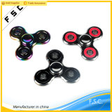 2017 Hot Selling Stress Relieving Metal Tri-Spinner Toy
