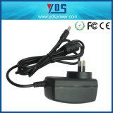 12V 2A Plug in Adapter Argetina Plug
