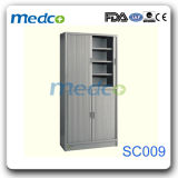Good Price! Hospital Stainless Steel File Storage Cabinet, Storage Cupboard