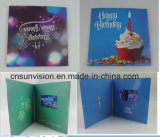 "Vertical 7"" LCD Screen Happy Birthday Music Gift Cards"