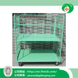 Customized Metal Cage Trolley for Warehouse by Forkfit