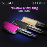 Seego Dry Herb Vaporizer Vhit King+Tc-50W Kit with Huge Vapor