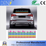 7 Color Sound Activated Equalizer Car Sticker Lamp