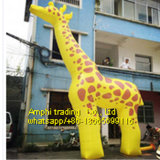 Inflatable Model, Giant Inflatable Giraffe
