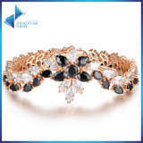 Wholesale Black Stone Korean Fashion Copper Bracelet Jewelry for Girls