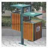 Park Garbage Bin in The Playground
