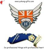 Cheap Custom Soft Enamel Metal Pin Badge Logo (YH-MP059)