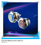 16mm Metal Push Switch with LED Light